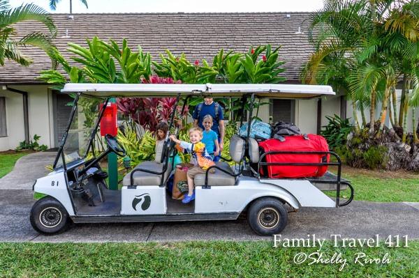 Travaasa Hana luggage cart