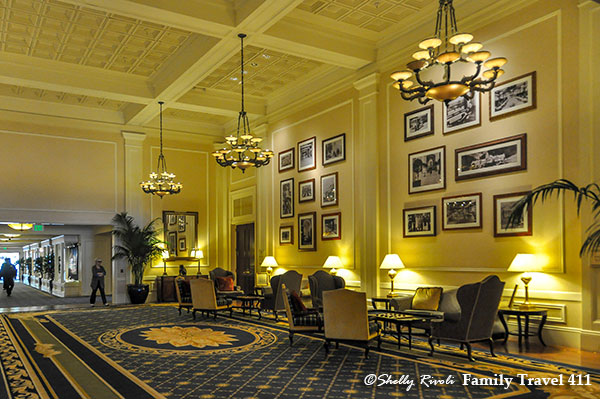 Be sure to peruse the photos in the lobby of the historic Claremont Hotel in Berkeley.