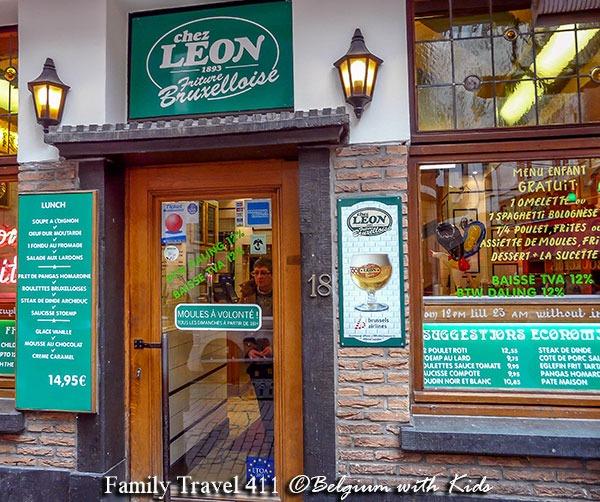 Chez Leon in Brussels, Belgium