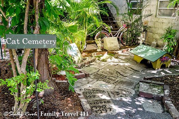 Cat Cemeterey at the Hemingway Home Museum