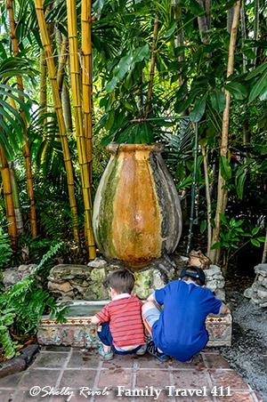 Hemingway Home Museum fountain