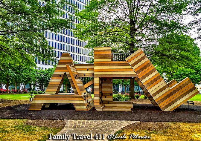 Atlanta with kids? Woodruff Park