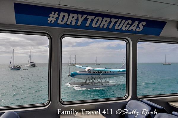 seaplane to Dry Tortugas