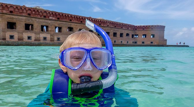 Tips for the Day Trip to Dry Tortugas with Kids