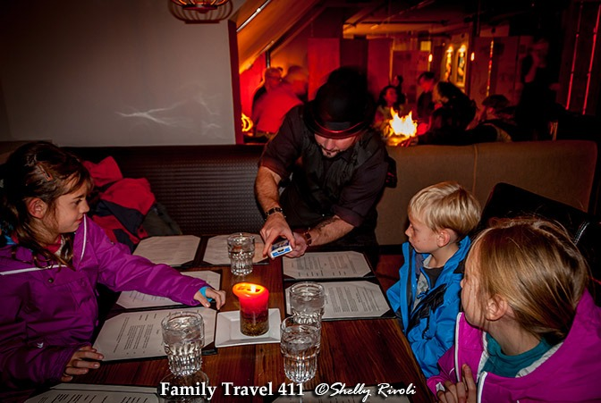 The Loft south tahoe has family-friendly dining--with a dash of magic.
