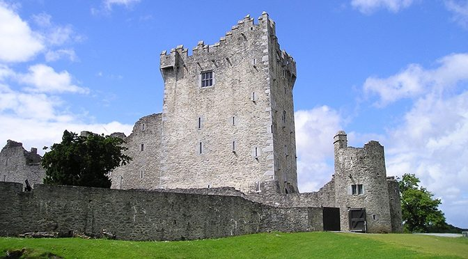 Ross Castle is a must-see in Killarney with kids.