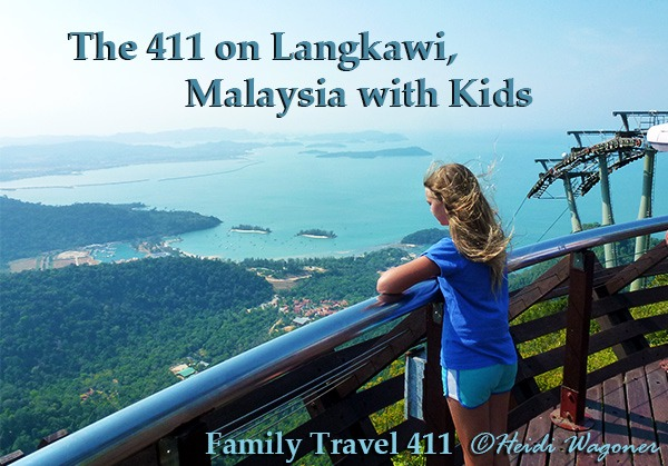 Langkawi Skycab with kids