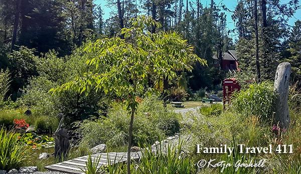 Tofino's botanical gardens.