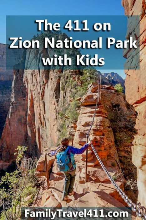 Pinnable zion national park with kids