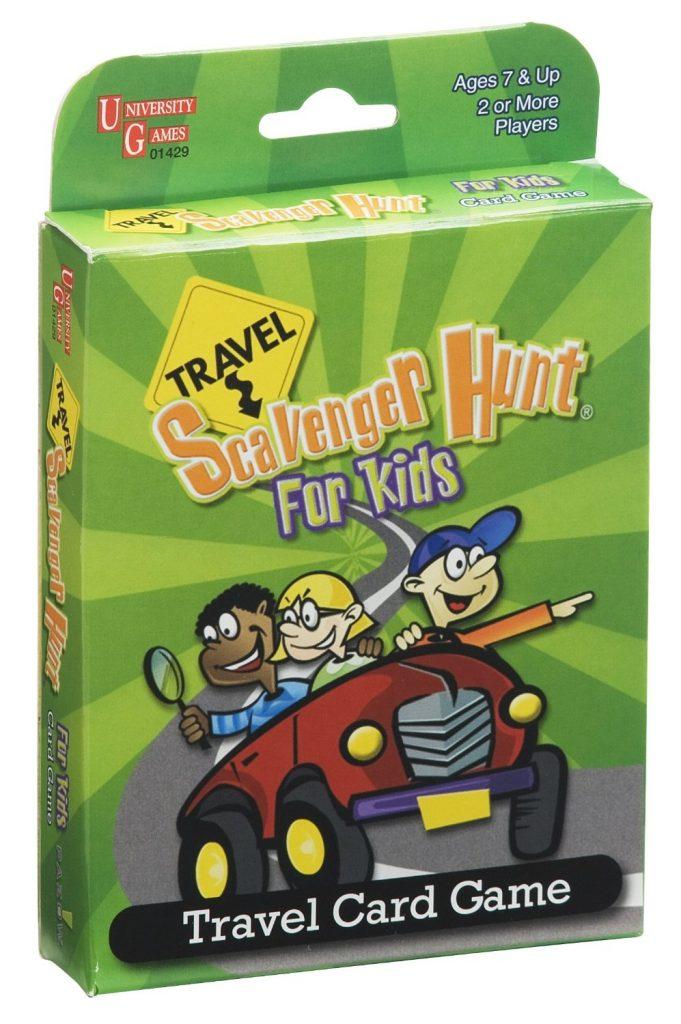 Travel Scavenger Hunt for Kids