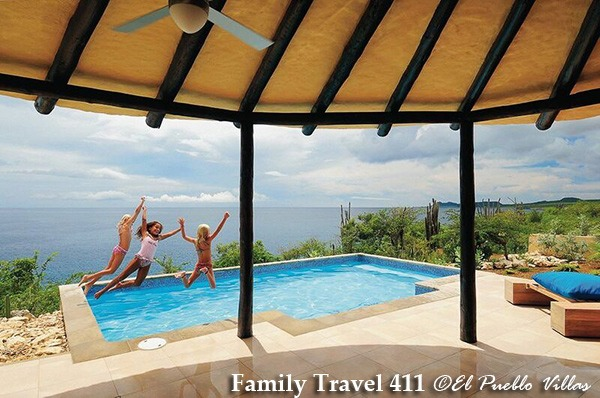 Bonaire with kids, book a villa with y our own private pool.