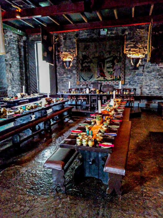 Medieval banquet County Clare