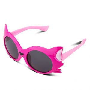 Polarized, flexible, 100% UV-protective sunglasses for kids--with style.