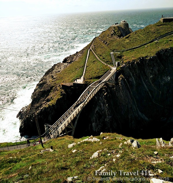 Mizen Head is Ireland's most south-westerly point.