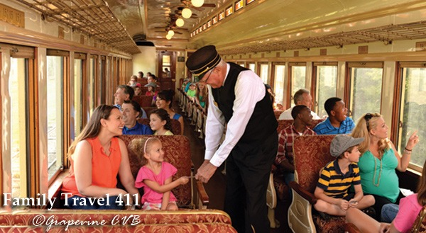Take a ride on the Grapevine Vintage Railroad.