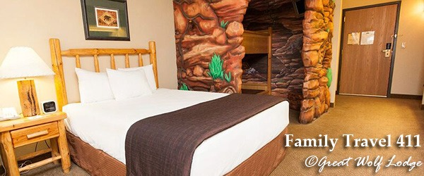 Family-friendly is the name of the game at Great Wolf Lodge.