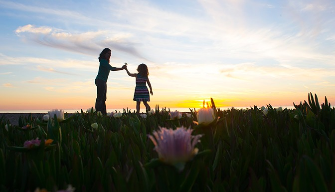 The 411 on Carlsbad with kids, sunset, flowers