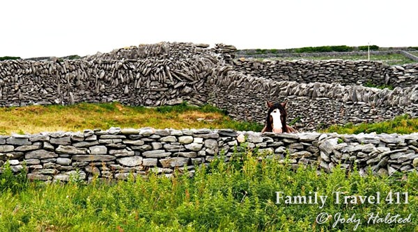 Step back in time with a crossing to the Aran Islands of Ireland.