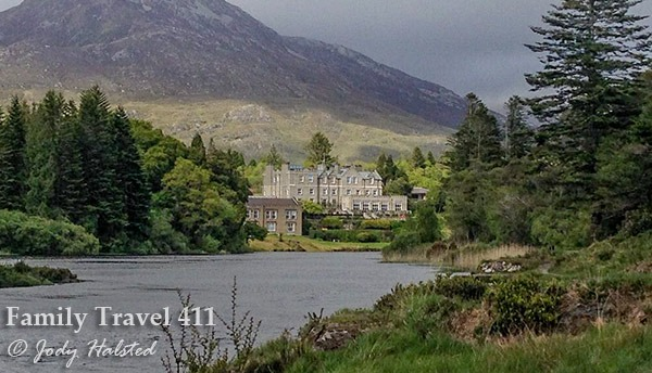 Kids will love to sleep like a king in this castle nestled in the 12 Bens Mountains of County Galway, Ireland.