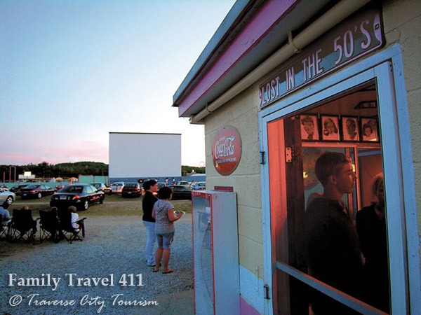 Traverse City's Cherry Bowl Drive- In movie theater.