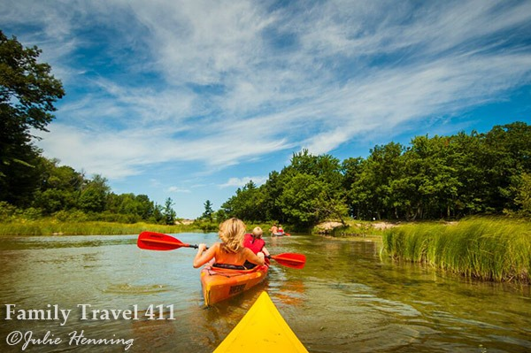 Paddle to your heart's content in Traverse City's waterways.