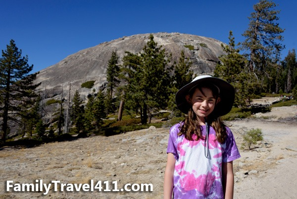 Sentinel Dome with kids