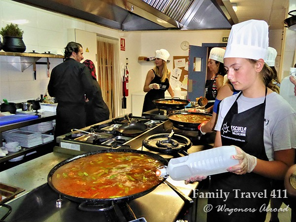 cooking lessons in Valencia Spain