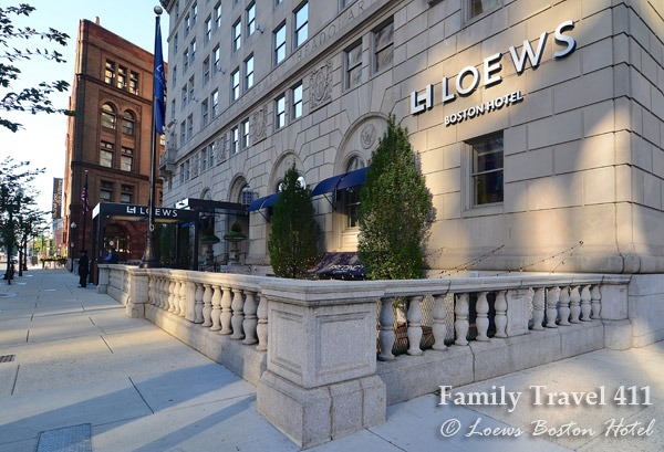 Location, location, former police station? Loews Boston Hotel.