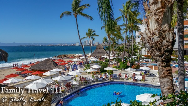 Pool time at the Buenaventura Grand in Puerto Vallarta.