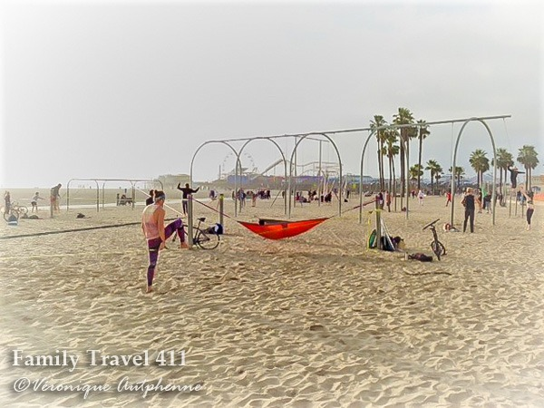 Enjoy ultimate people-watching at the Original Muscle Beach.