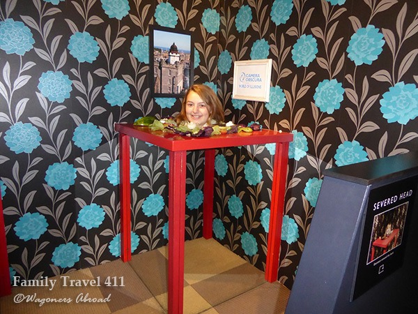 Six floors of mind-bending fun await at Edinburgh's Camera Obscura.