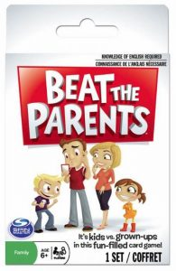Beat the Parents (or have fun trying) with the card game built for families.