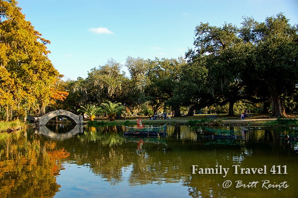 New Orleans City Park in all its splendor.