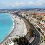 overview of Nice with kids, France
