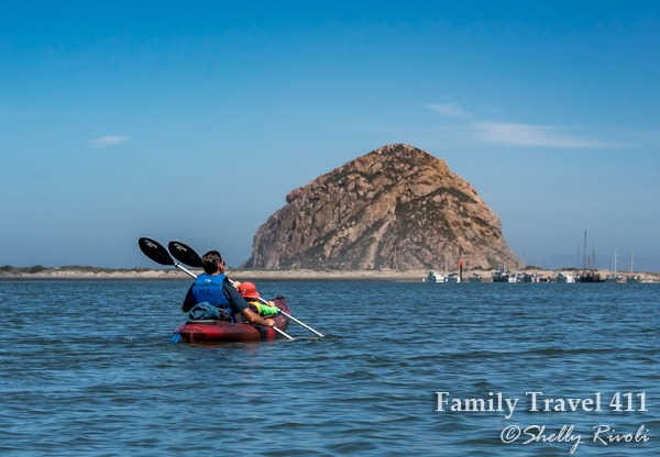 Don't miss your chance to kayak Morro Bay with kids on family-friendly tour with Central Coast Outdoors.
