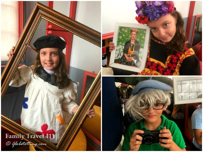 Kids love the hands-on art exhibits at Santiago's Artequin.