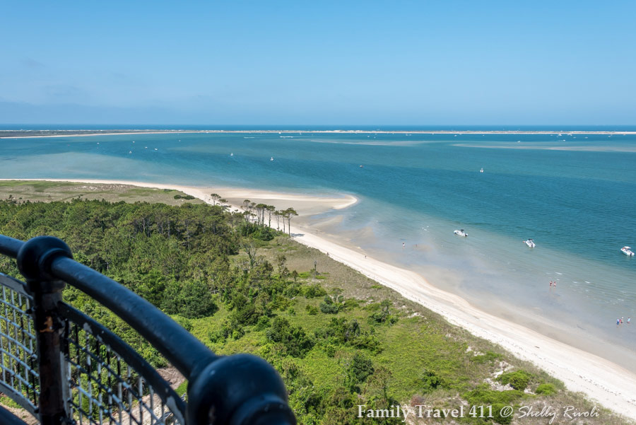 View from Cape Lookout Lighthouse, North Carolina