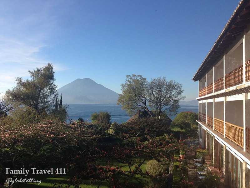 Great views from family-friendly Hotel Atitlan.