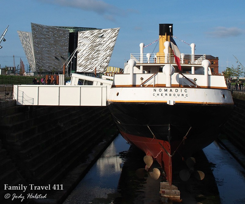 Visit the shipyard where the Titanic was built, now a contemporary museum.