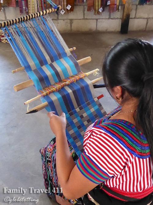 weaving in Guatemala