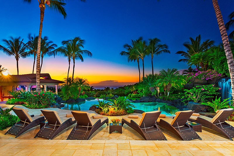 Your own private paradise--in paradise.