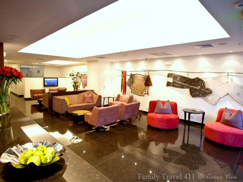 Tierra Viva hotel's great location in Miraflores.