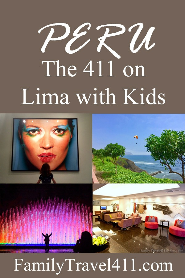 The 411 on Lima with kids