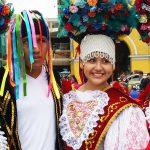Parade costumes in Lima, Peru
