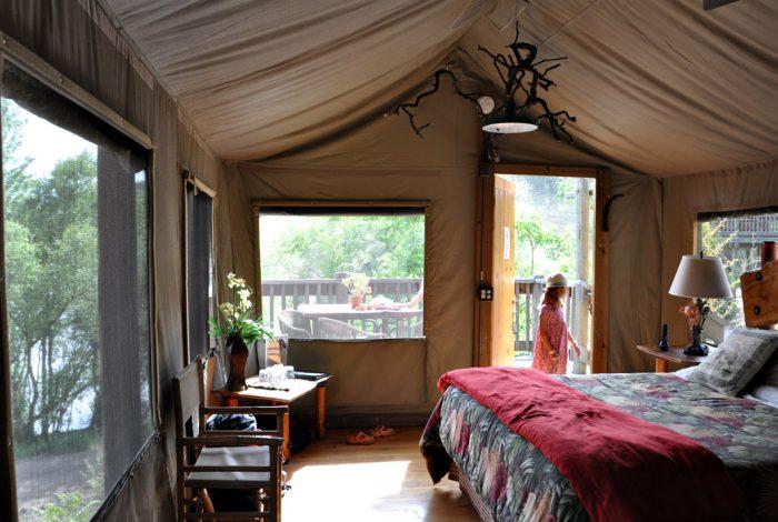 Safari West African Tent