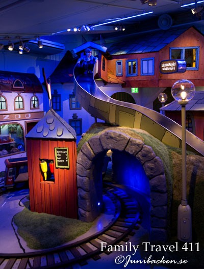 Inside the world of Junibacken in Stockholm.