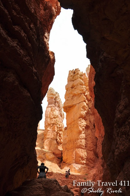 Opening in Bryce Canyon