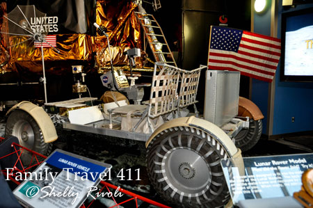 Huntsville U.S. Space & Rocket Center Lunar Rover Vehicle
