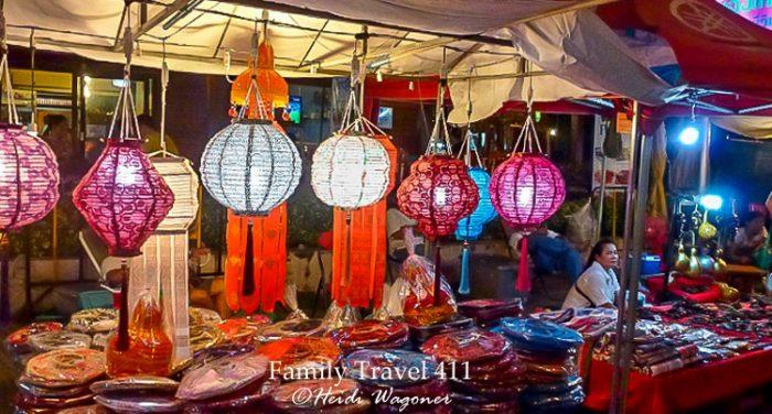 Night market in Chiang Mai