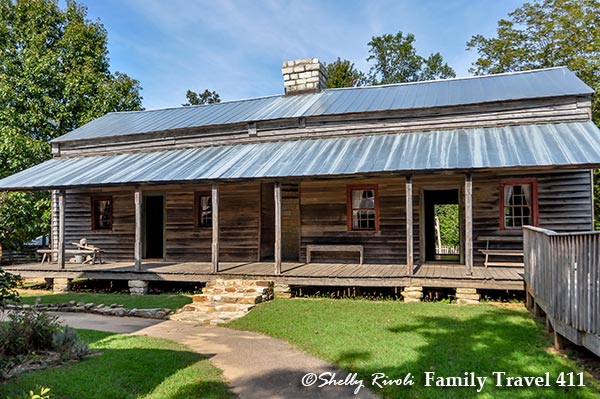 Burritt on the Mountain cabins are a great activity for those visiting Huntsville with kids